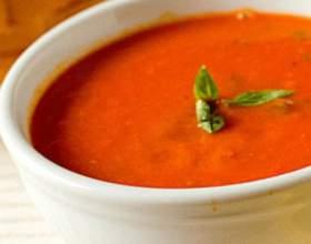 Баклажанный крем-суп с паприкой фото