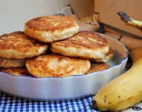 Банановые сырники: 2 рецепта фото