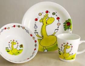 Безопасная посуда для ребенка фото