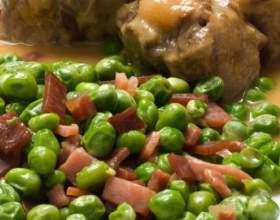 Блюдо из маринованной говядины и ветчины фото