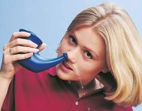 Чем промывать нос при гайморите фото
