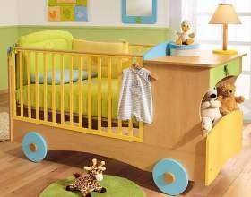 Чем украсить детскую кроватку фото