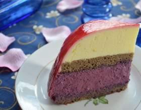 Черемуховый торт-суфле фото