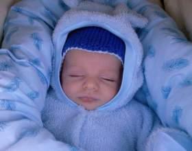 Что делать, чтобы младенец не замерз фото
