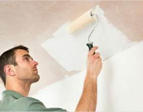 Что лучше: белить потолок или красить фото