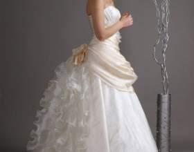 Что скрывается под подолом свадебного платья фото