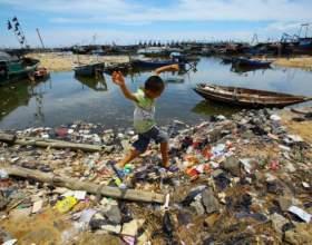 Что загрязняет окружающую среду фото