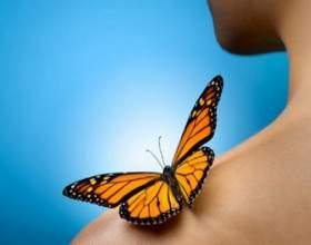 Что значит поцелуй бабочки фото