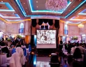 Для чего нужен проектор на свадьбе фото