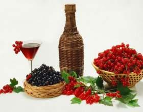 Домашнее вино из черной смородины фото