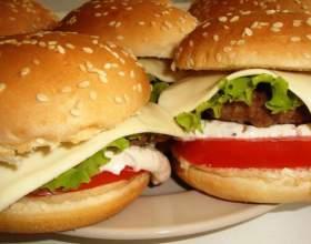 Домашние гамбургеры фото