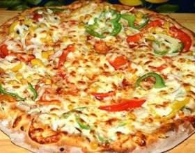 Домашняя пицца «сытная» фото