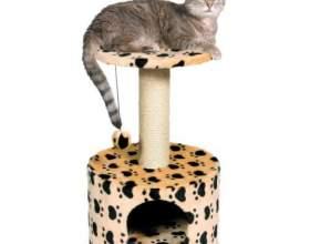 Домик для кошки своими руками фото
