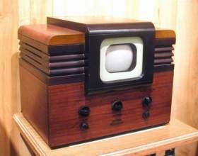 Где и когда выпустили первый телевизор фото