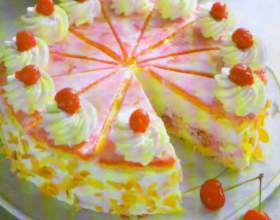 Голландский вишневый торт фото