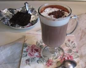 Горячий французский шоколад фото