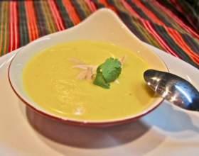 Готовим картофельный суп-пюре с курицей фото