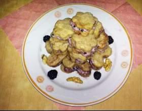 Готовим печенье с ежевикой фото