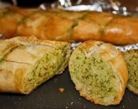 Хлеб с зеленью фото