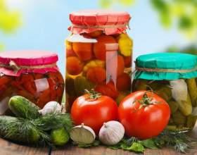 Хозяйкам на заметку: летняя заготовка овощей фото
