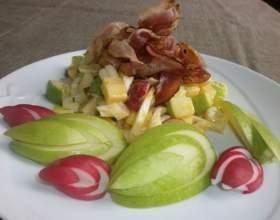 Хрустящий зеленый салат с анисовой ноткой фото