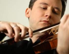 Игра на скрипке: как держать инструмент фото