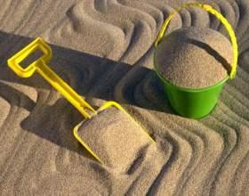 Игры с песком фото