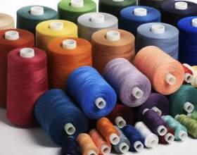 Из чего делают нитки для шитья фото
