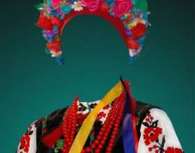 Из чего состоит детский народный украинский костюм фото
