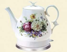 Электрический чайник из керамики фото