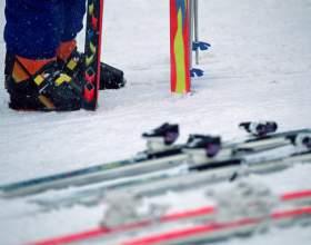 Как бежать на лыжах фото
