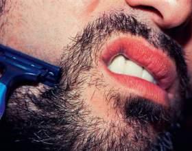 Как брить бороду фото