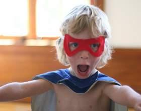 Как быстро сделать маску супергероя фото