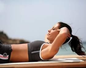 Как быстро убрать живот: упражнения для дома фото