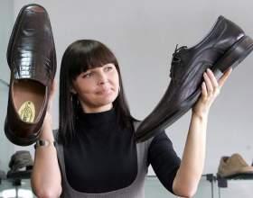 Как чистить кожаную обувь фото