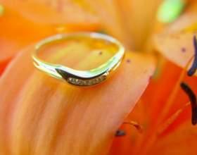 Как чистить свадебное кольцо фото