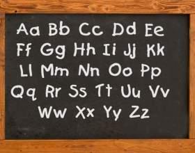 Как читать английские буквы фото