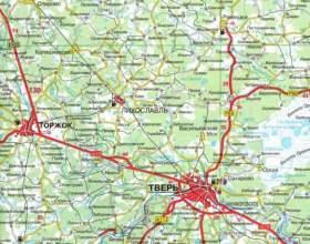 Как читать карты дорог городов россии фото