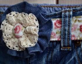 Как декорировать джинсы фото