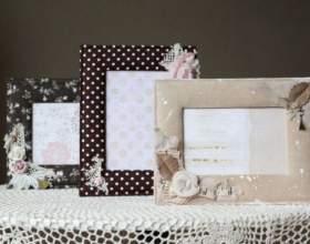 Как декорировать рамку для фотографии фото