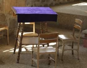 Как декорировать столик фото