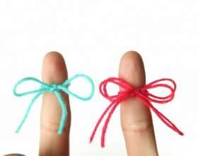 Как делать фенечки из ниток мулине фото