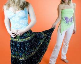 Как делать юбку-солнце фото