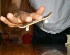 Как делать кикфлип на фингере фото