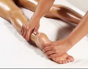 Как делать массаж ног фото