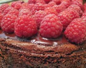 Как делать пироги со свежей малиной фото
