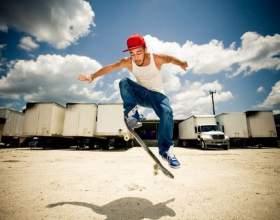 Как делать прыжок на скейте фото