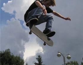 Как делать трюки на скейтборде фото