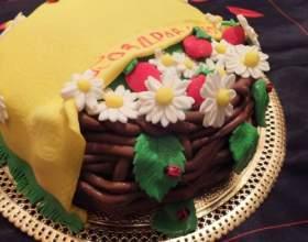 Как делать украшение для торта: цветы из мастики фото