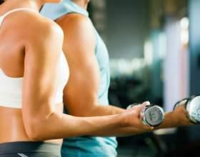 Как делать упражнения с гантелями фото
